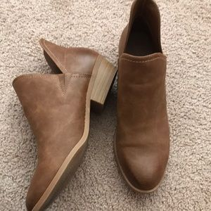 Camel ankle bootie!